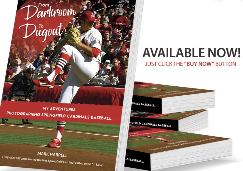 As Springfield Cardinals photographer, Mark Harrell has a